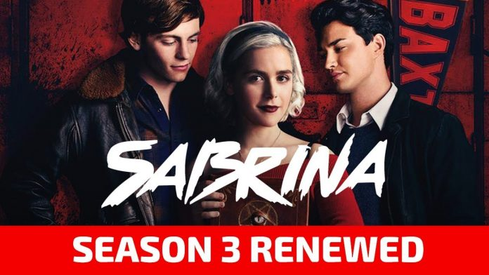 when will season 3 of sabrina come out