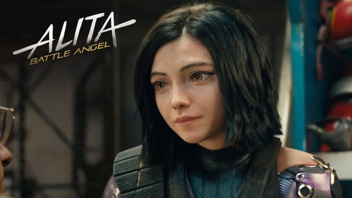 Alita Battle Angel Official Poster