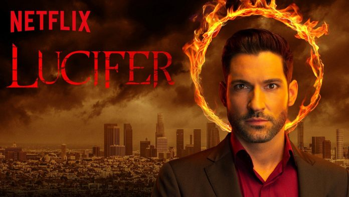 Lucifer TV Show Netflix Poster