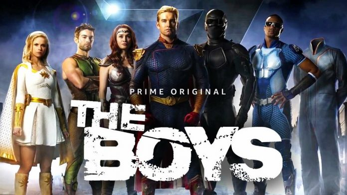 The Boys Amazon Prime Poster