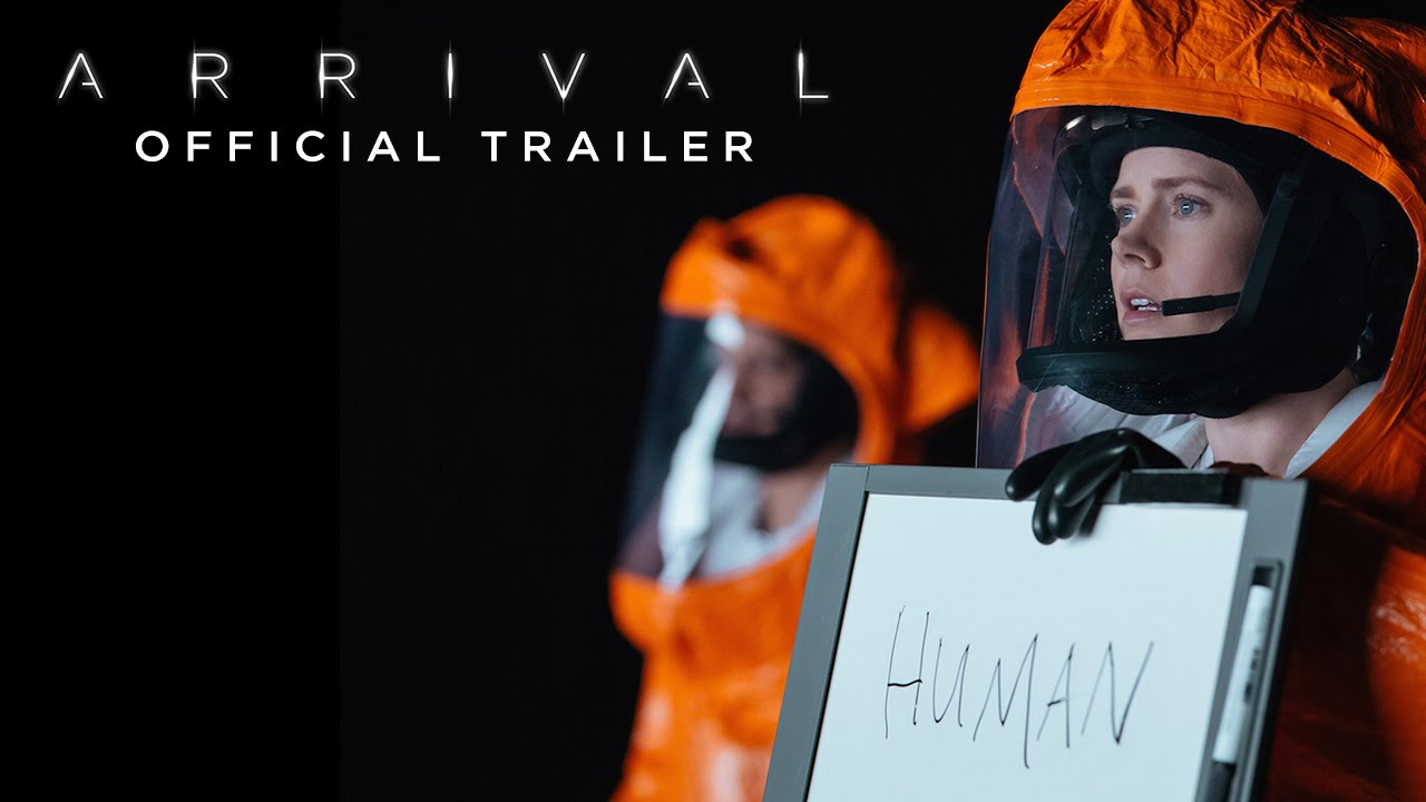 Arrival official trailer Movie Poster