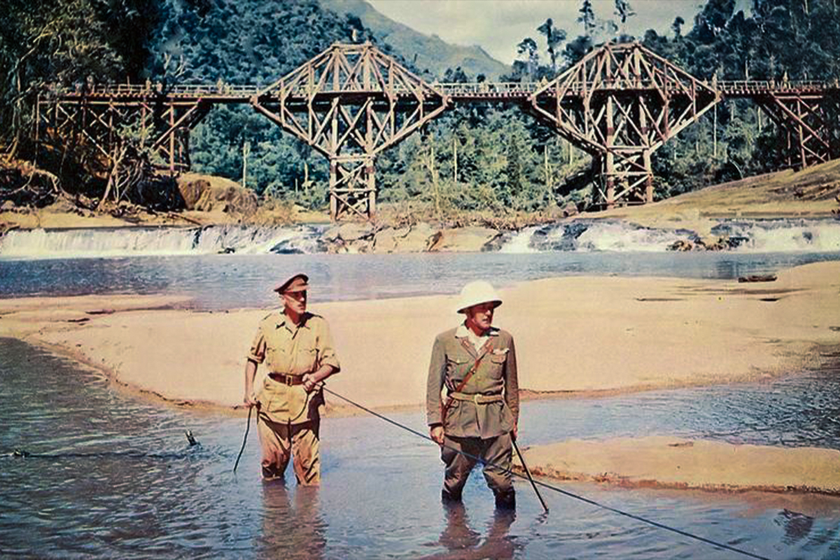Bridge on the River Kwai Movie Poster