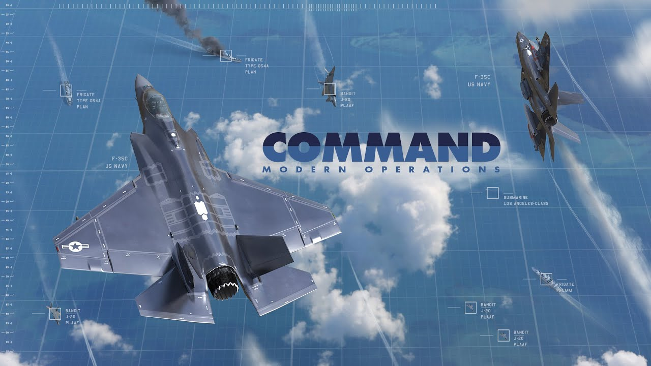 Command Operations game poster