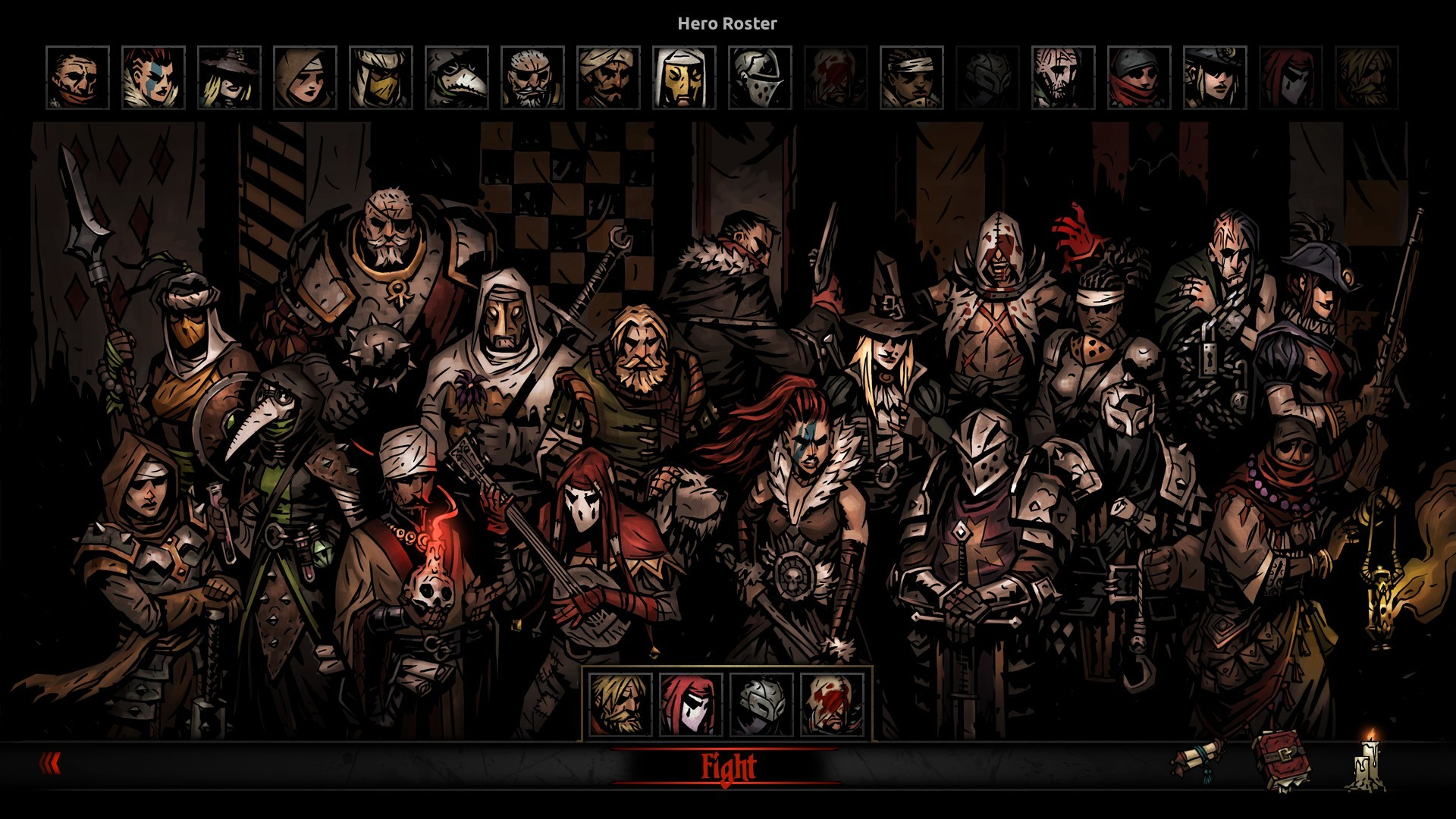 Darkest Dungeon game poster