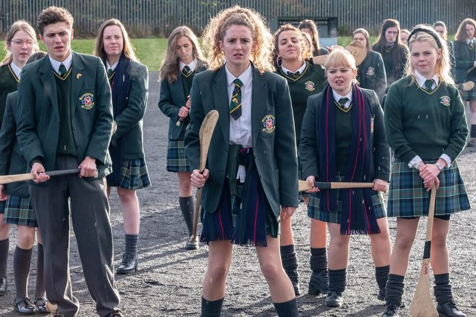 Derry Girls Season 3 TV Drama Poster
