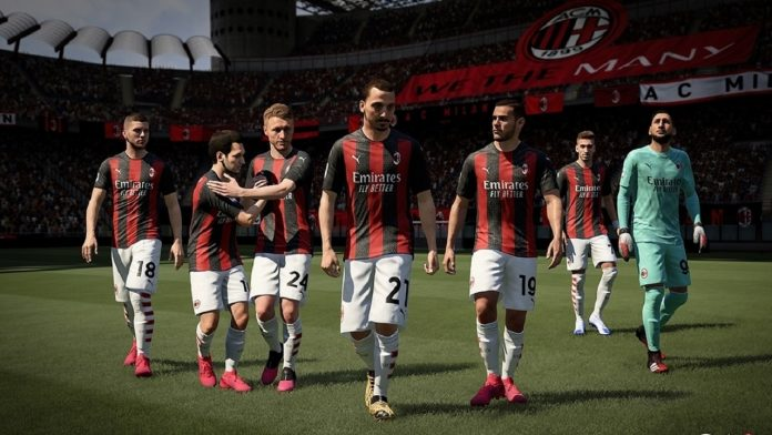 EA Sports FIFA 21 Game Poster