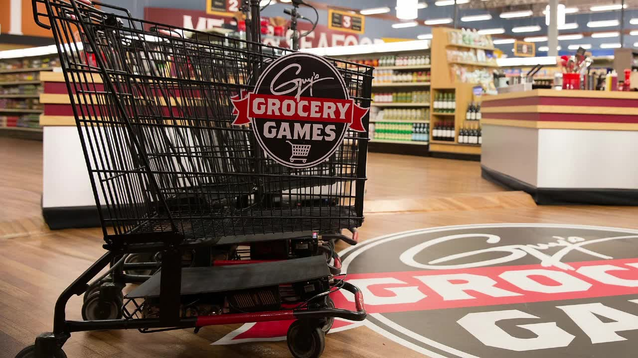 Guy's Grocery Games Seasons 18-20 TV Show Poster