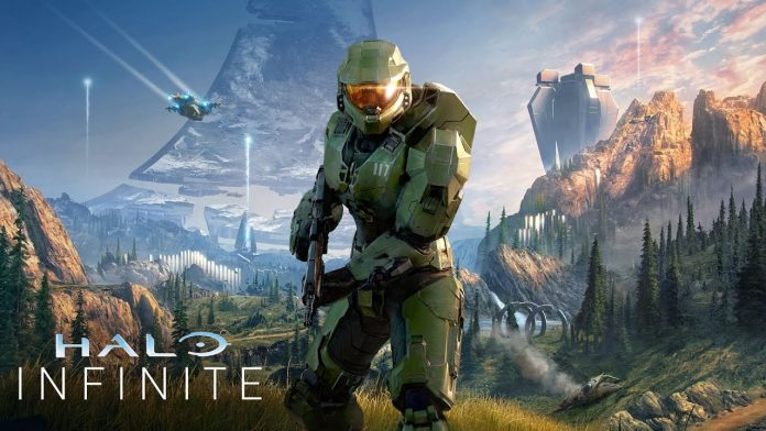 Halo Infinite Game Poster