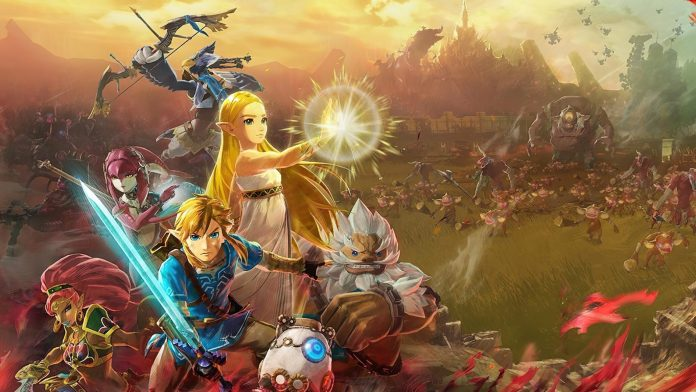 Hyrule Warriors Age of Calamity game poster