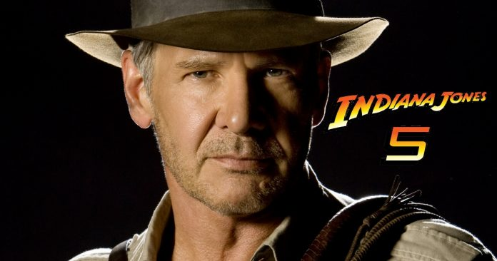 Indiana Jones 5 Harrison Ford movie poster