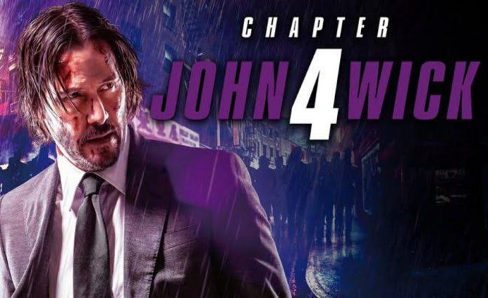John Wick Chapter 4 Keanu Reeves poster