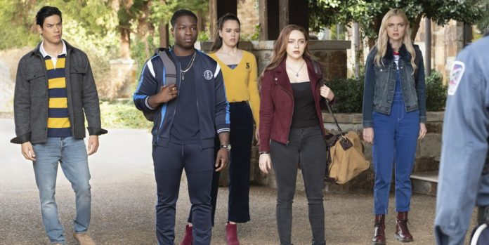Legacies Season 3 tv show poster