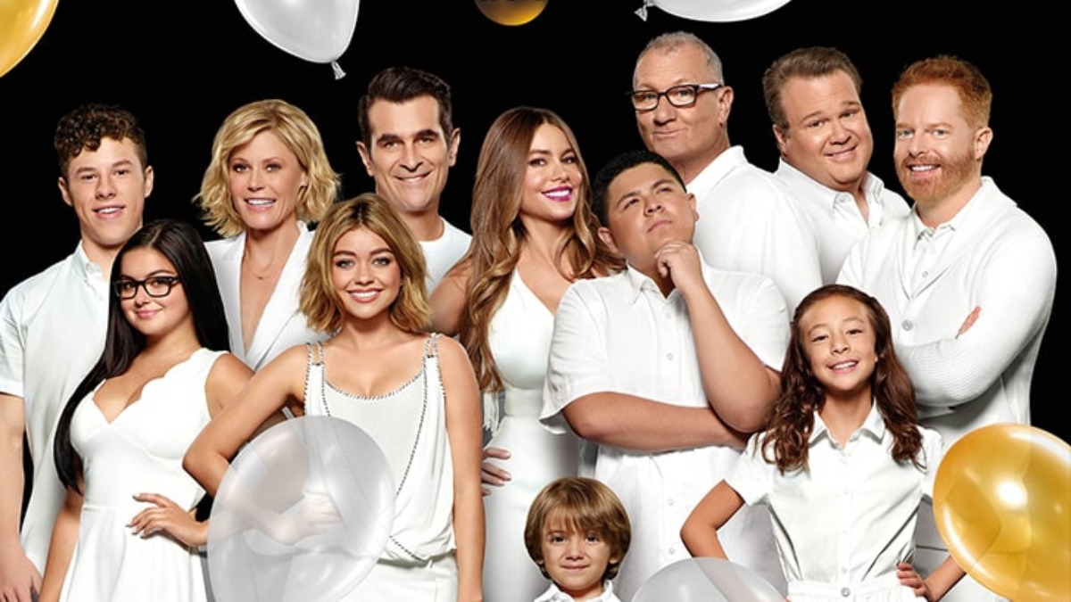 Modern Family American Television Mockumentary Poster