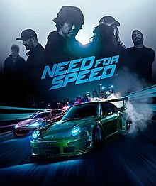 Need for Speed Car Racing Poster