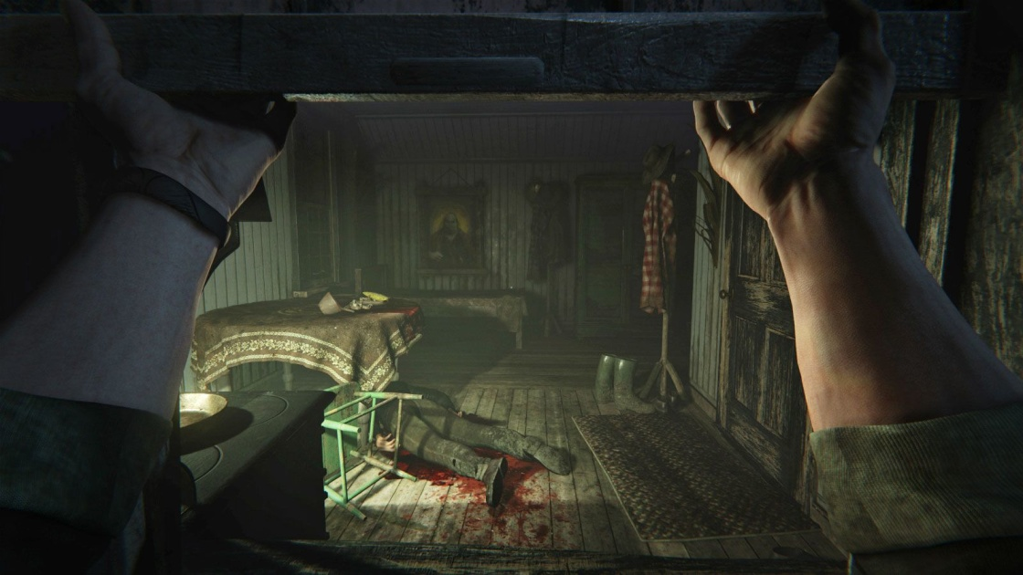 Outlast Game Poster