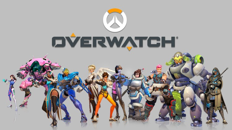 Overwatch Game Poster