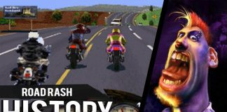 Road Rash Bike Racing Poster