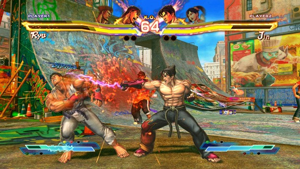 Street Fighter X Tekken Game Poster
