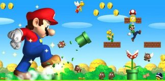 Super Mario Game Wallpaper