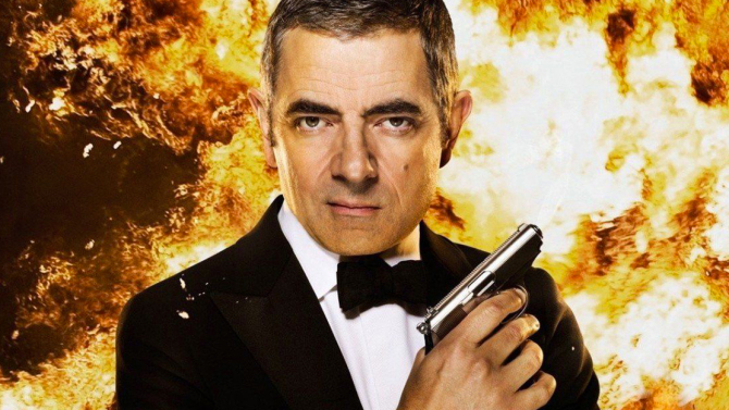 The Johnny English Trilogy Movie Poster