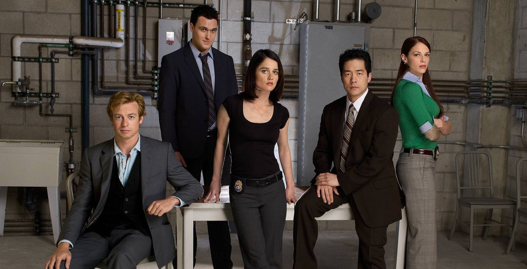 The Mentalist  TV Show Poster