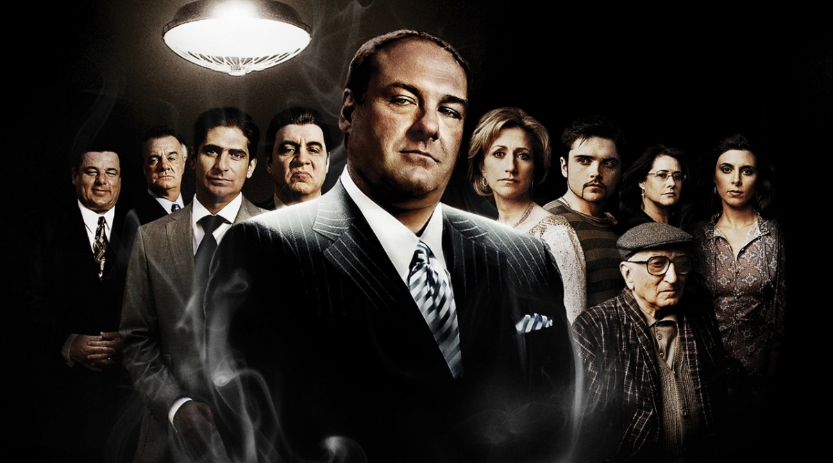 The Sopranos tv show Poster