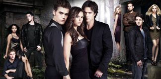 The Vampire Diaries TV Show Poster