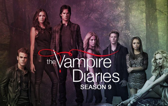 The Vampire Diaries Season 9 TV Show Poster