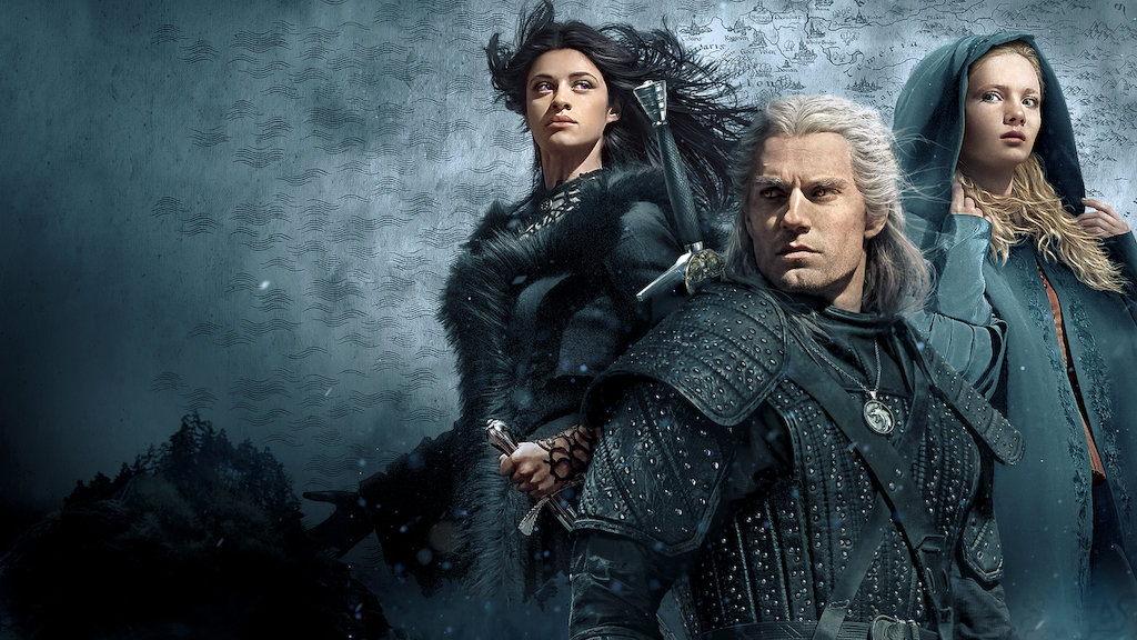 The Witcher TV Show Poster