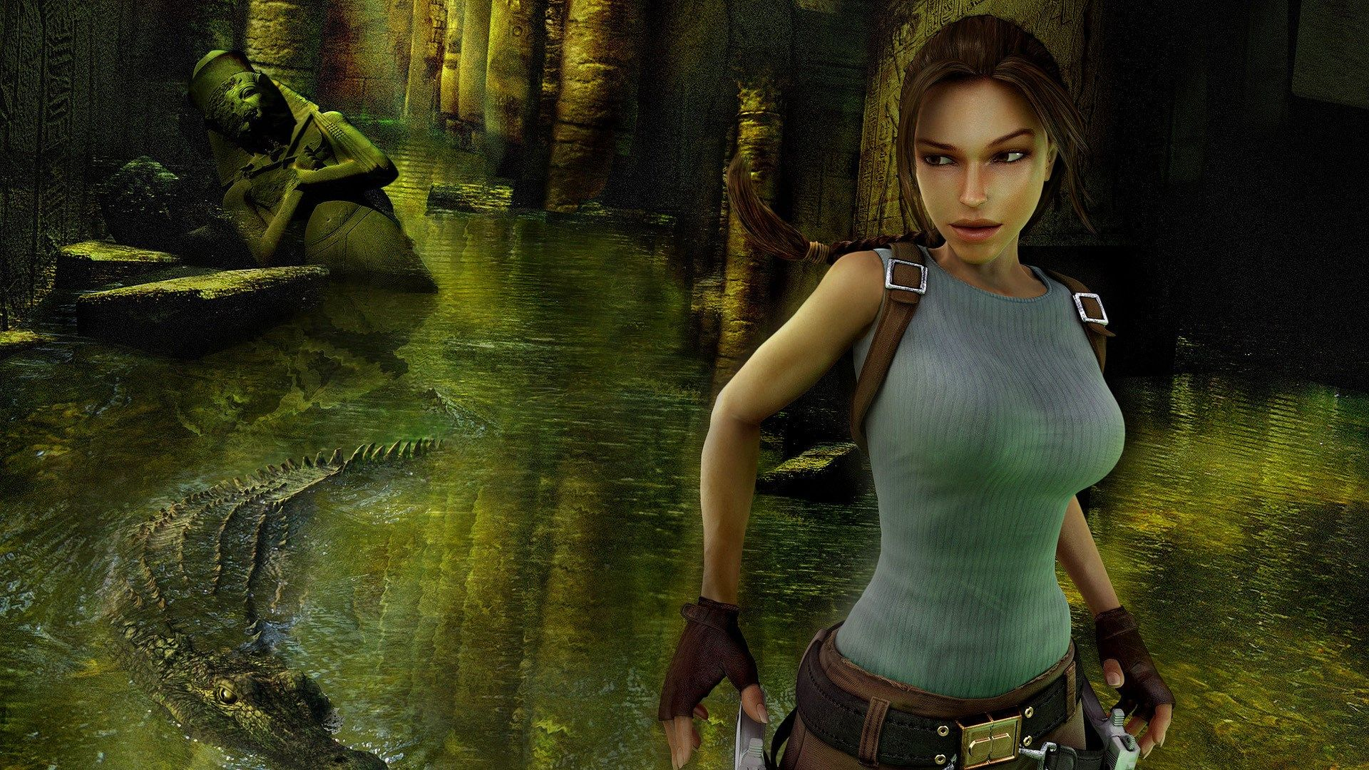 Tomb Raider Anniversary Game Poster