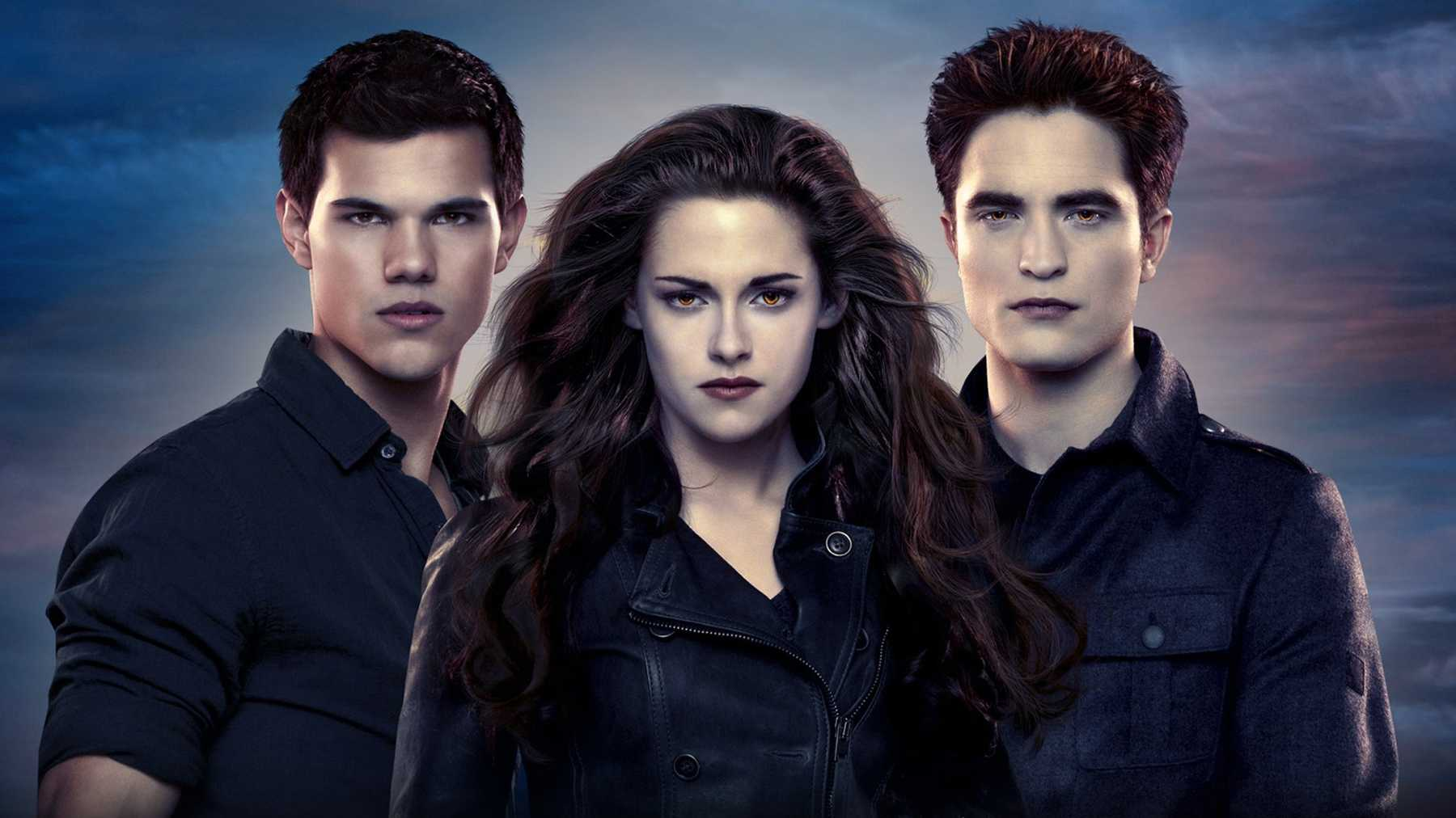 Twilight Saga Trio Poster