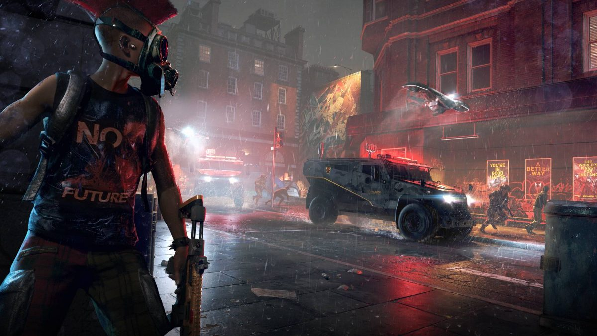 Watch Dogs Legion game Poster