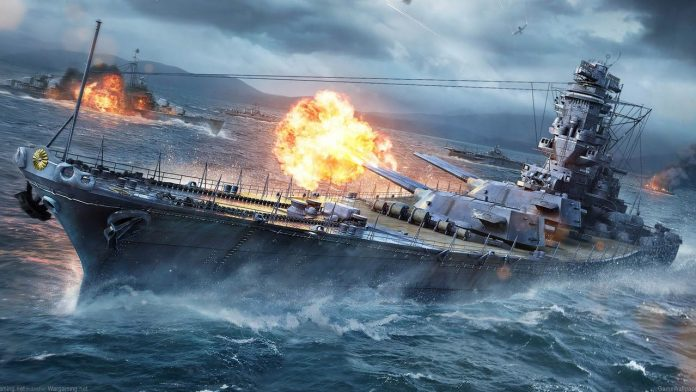 World of Warships game poster
