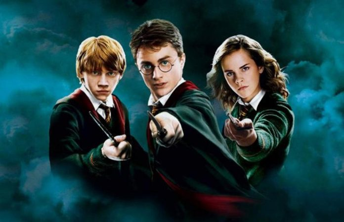 Harry Potter Movie Trio Poster