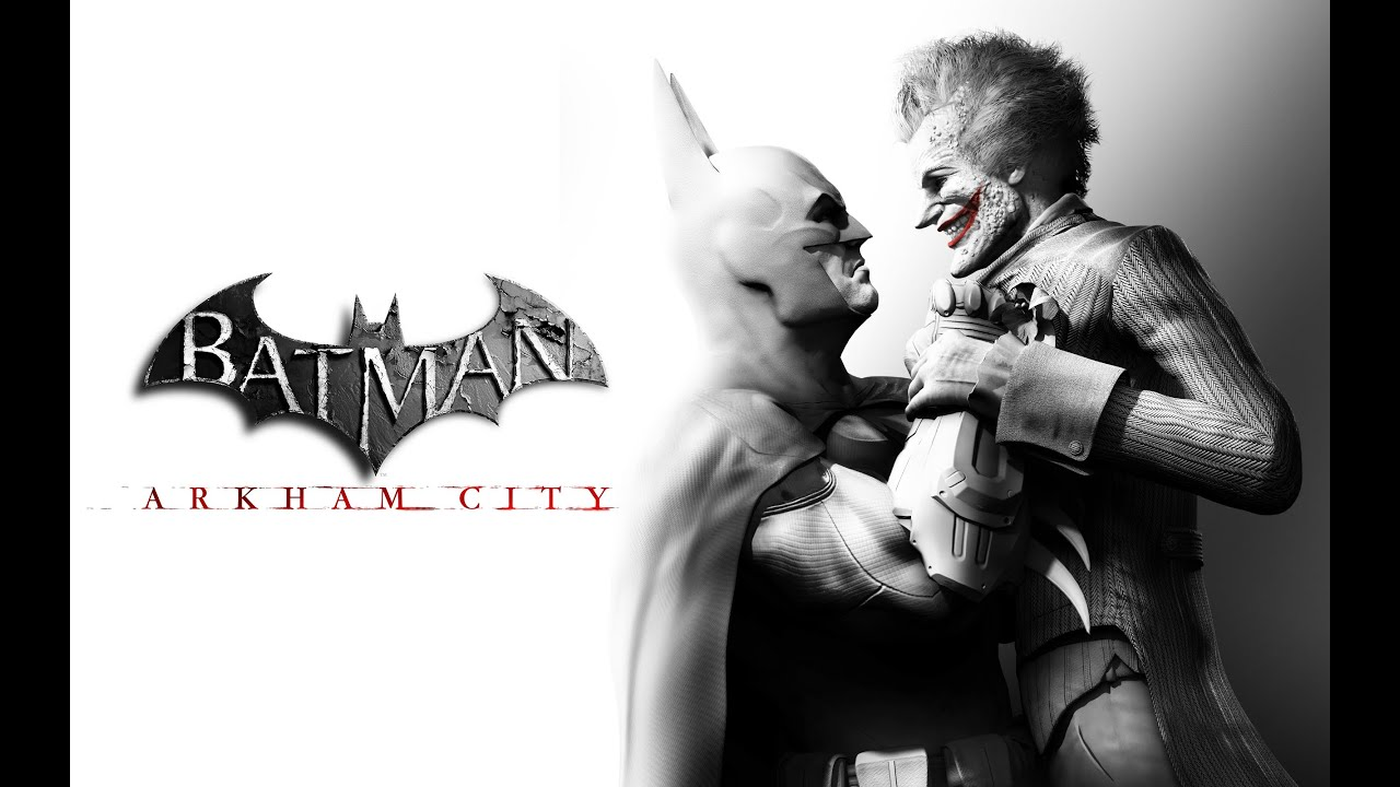 Batman: Arkham City game poster