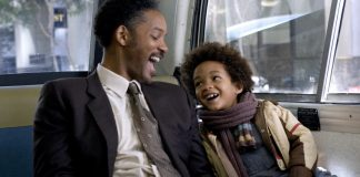 Will Smith pursuit of happiness Poster