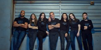 Agents of Sheild cast poster