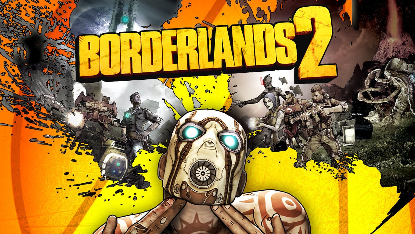 Borderlands 2 game poster