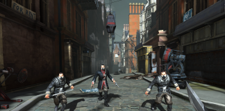 Dishonored gameplay scene