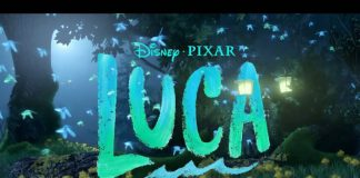 Disney's Luca movie poster