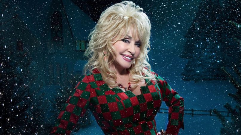 Dolly Parton's Christmas on the Square Movie Poster