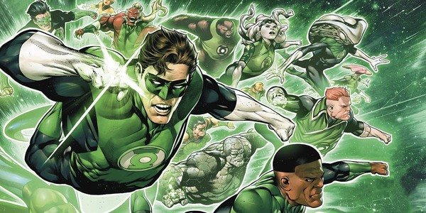 Green Lantern Corps Movie Poster
