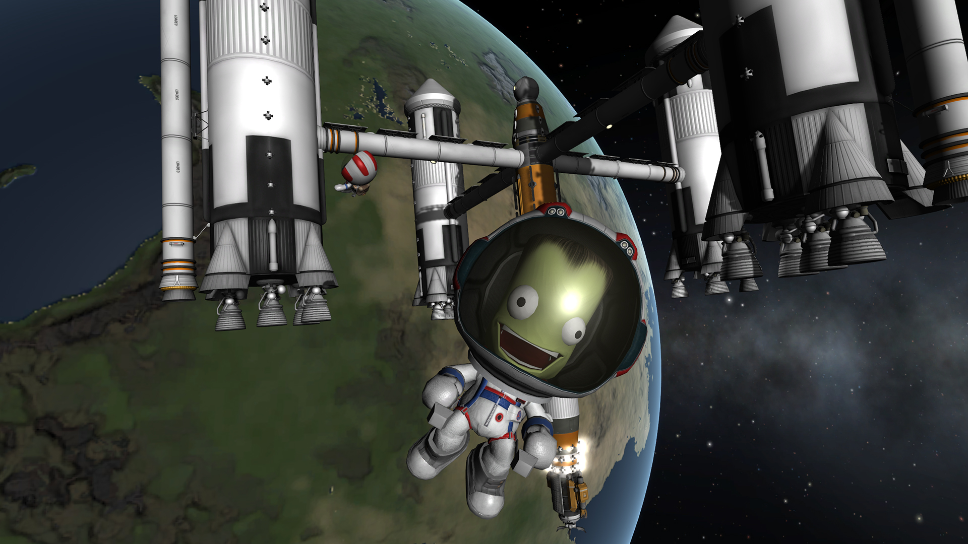 Kerbal Space Program game poster