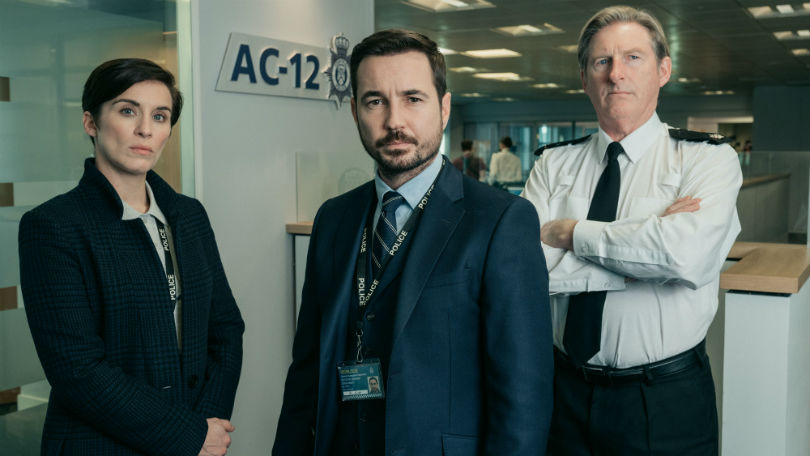 Line of Duty TV Show Poster