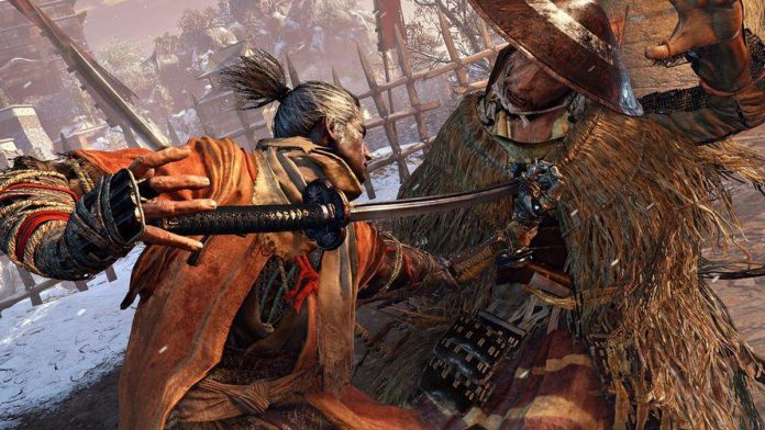 Sekiro: Shadows Die Twice game poster