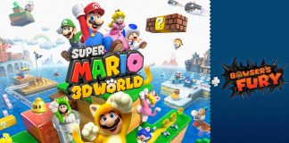 Super Mario 3D World + Bowser's Fury game poster