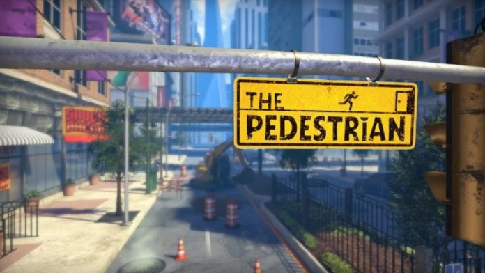 The Pedestrian PS4 game poster