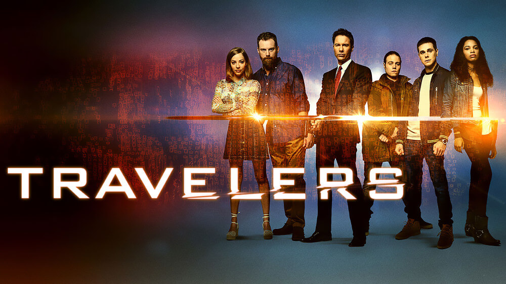 Travelers TV Show Poster