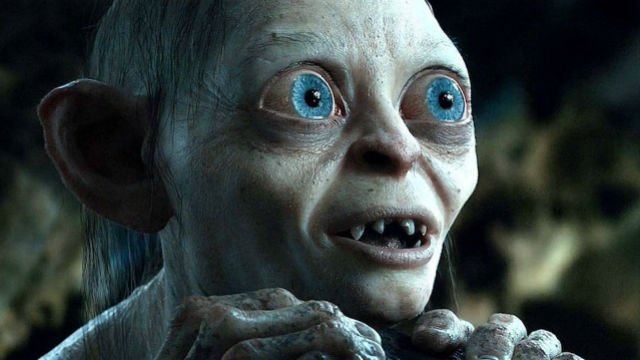 the lord of the rings gollum game scene