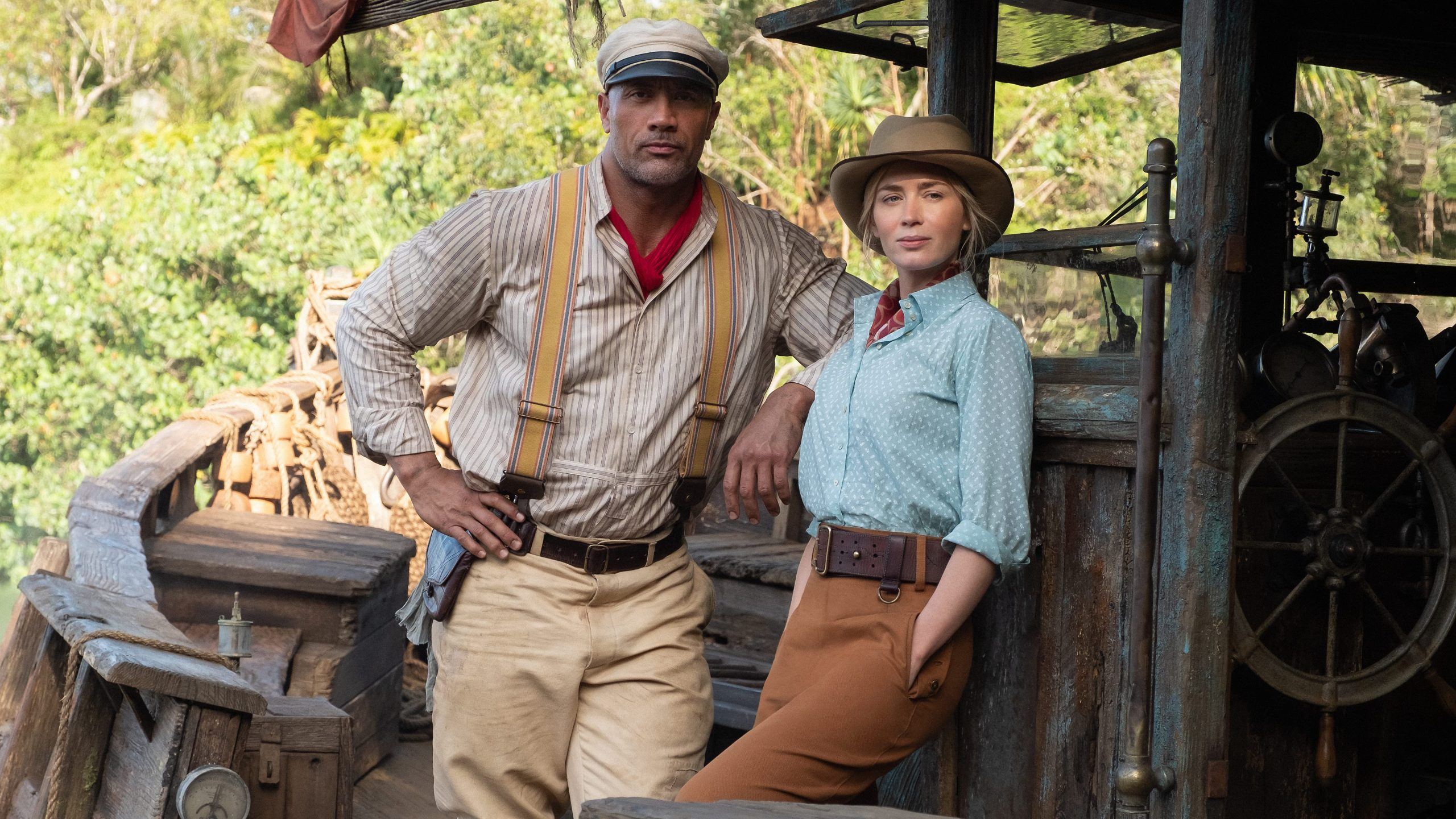 Disney's Jungle Cruise with Dwayne Johnson and Emily Blunt